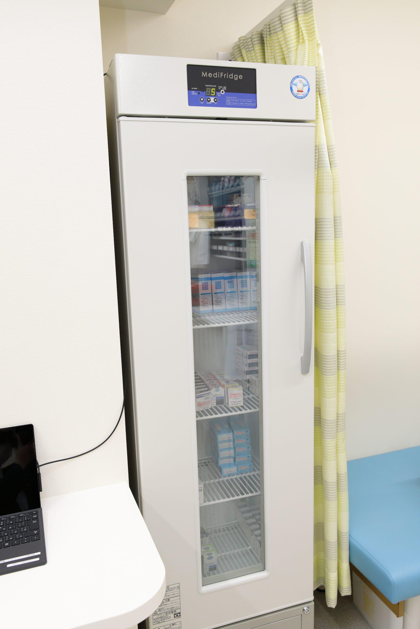 ワクチン専用冷蔵庫